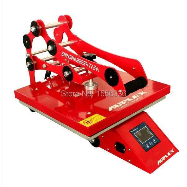 manual new style t-shirt heat press machine t-shirt heat transfer machine 1 pcs 38 38cm small heat press machine hp230a