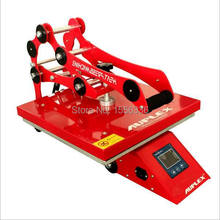 manual new style t-shirt heat press machine t-shirt heat transfer machine