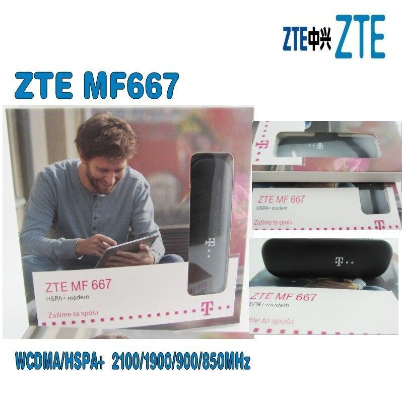 ZTE MF667 USB Modem - 21.6Mbps HSPA ZTE MF667 Internet Key Dongle