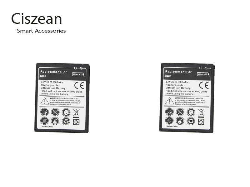 2x 1800mAh EB F1A2GBU Replacement Battery For Samsung