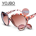 YOJBO 2017 Adult Round Sun Glasses For Women Sunglasses Ladies Fashion Brand Designer Plastic Frames New Vintage Style