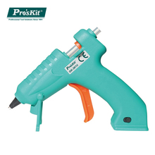 Pro'skit Cordless Hot Melt Glue Gun Rechargeable USB Fast Heating Home Class DIY Power Tools with Glue Sticks for Kids Adult