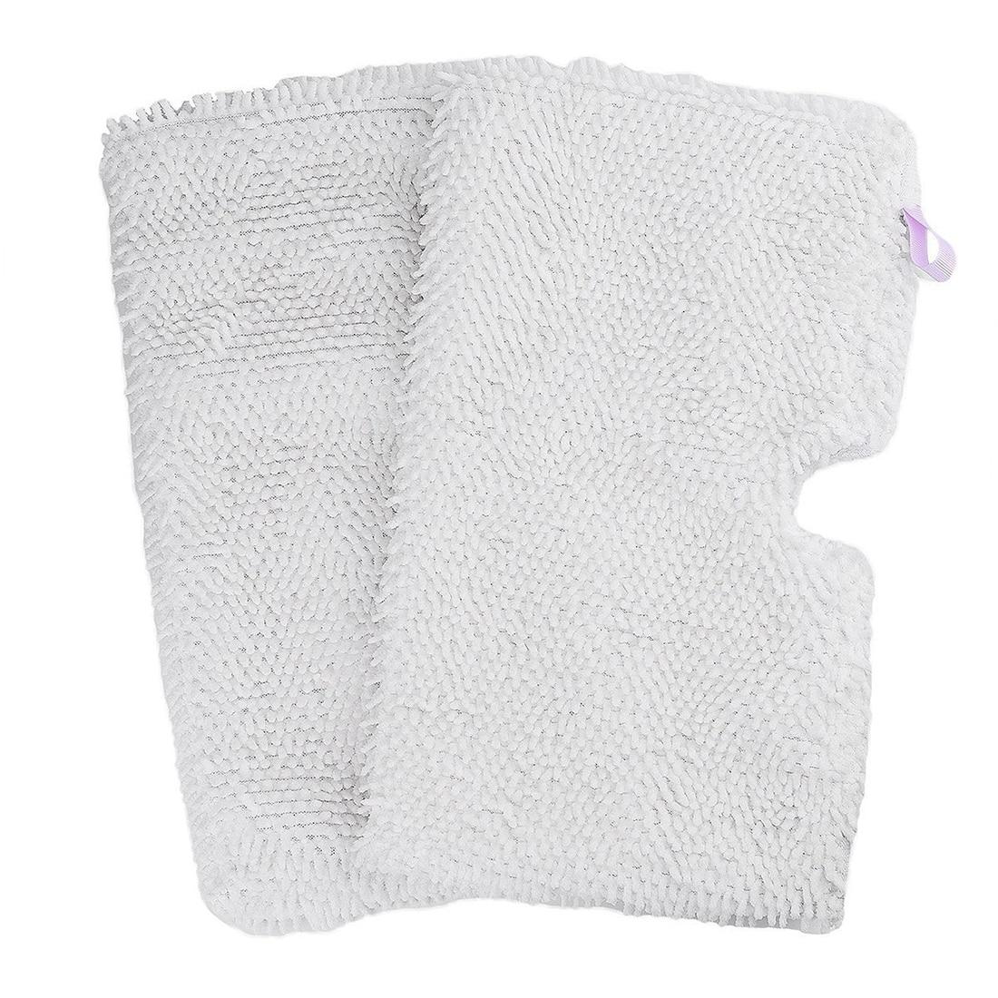 2-paquete lavable microfibra fregona almohadillas de limpieza para Shark Steam Pocket Mops S3500 series, S3501, s3601, S3550, S