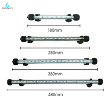 18/28/38/48CM Waterproof LED Aquarium Lighting Fish Tank Light Bar Blue/White Submersible Underwater Lamp light Aquatic Decor