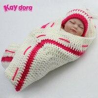 KAYDORA 10 inch 28cm Full Silicone Reborn Baby Dolls Alive Lifelike Mini Real Dolls Realistic Sleeping Girl Reborn Babies Toys
