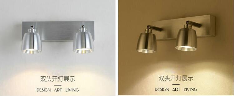 Светодиодный настенные светильники led современные пятно светильник для ванной свет зеркала настенные светильники светодиодные освещения лестницы домашнего освещения - 2