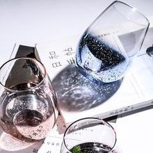 Europa północna przezroczysty gwiazda puchar odporność na wysoką temperaturę śniadanie sok napój kubek kubek do picia kubek wody szklanka do piwa tanie tanio Szkło Kufle piwa ROUND M-158 Ekologiczne Transparent