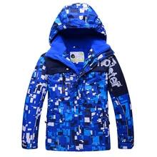 Junge kinder gekleidet jungen winter outdoor-jacke wasserdicht atmungsaktiv winddicht oft gehen wintermantel jacke