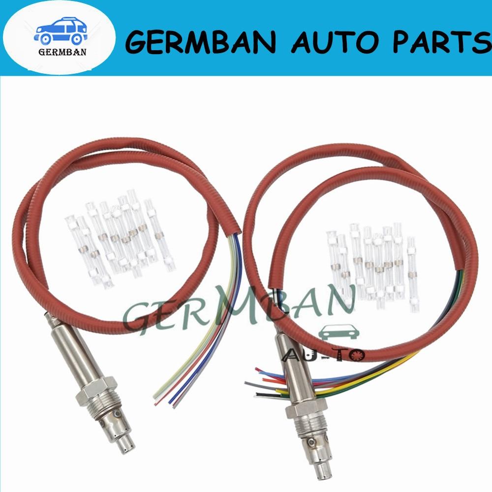 Germban 13628589844 Nox Sensor Downstream Fits for 2014-2017 BMW