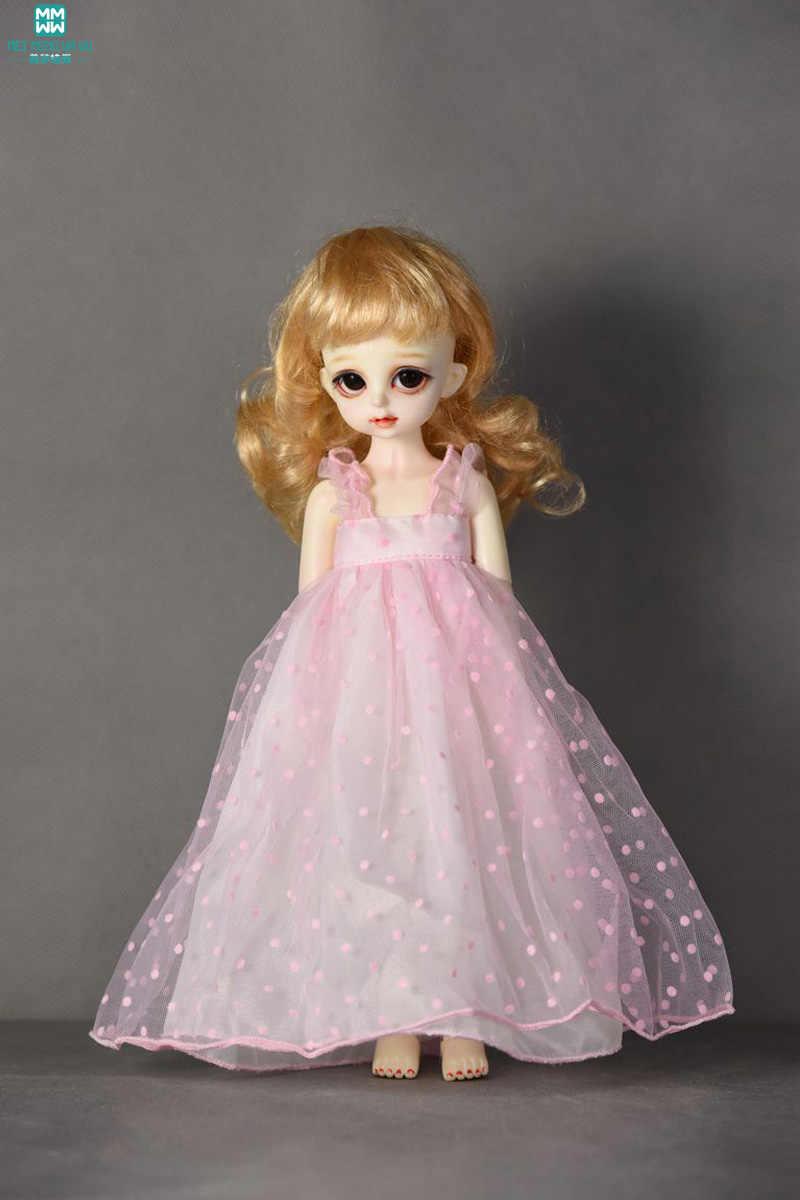 Одежда для кукол подходит 27-30 см 1/6 BJD куклы девушка платье розовая Пряжа юбка платье