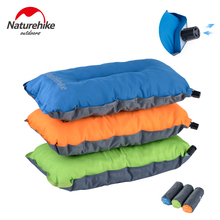 Naturehike Lightweight Compressible Self inflating Camping Pillow, Soft Compact Portable Air Pillow for Sleep and Lumbar Support