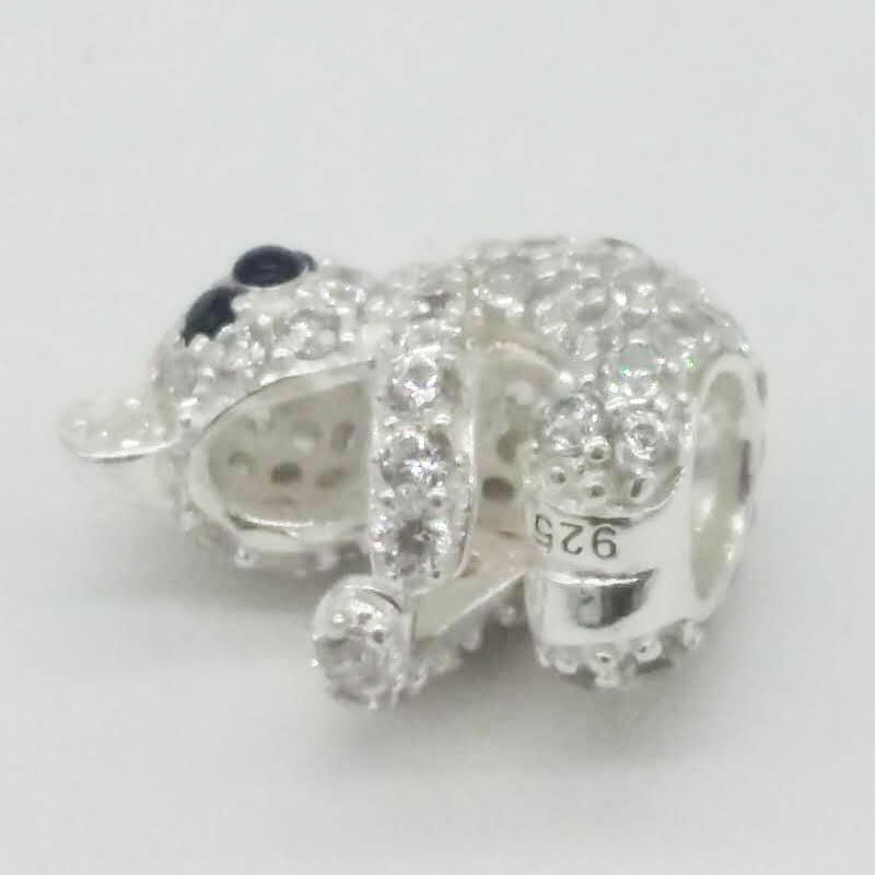 Fits for Pandora Charms Bracelet Original 925 Sterling Silver Bead Lovely Koala Charm Beads DIY Bracelets for Women Jewelry F103