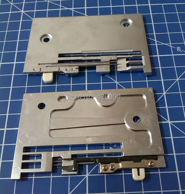 Sewing Machine Parts Needle Plate A1115-777-OBO  For Bernina Overlocker 2000DCE