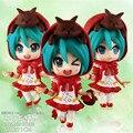 3 Diferentes Expresiones de la Moda Japonesa Hatsune Miku Ídolo Virtual Singer PVC Figura de Colección Modelo 12 CM BDFG6291