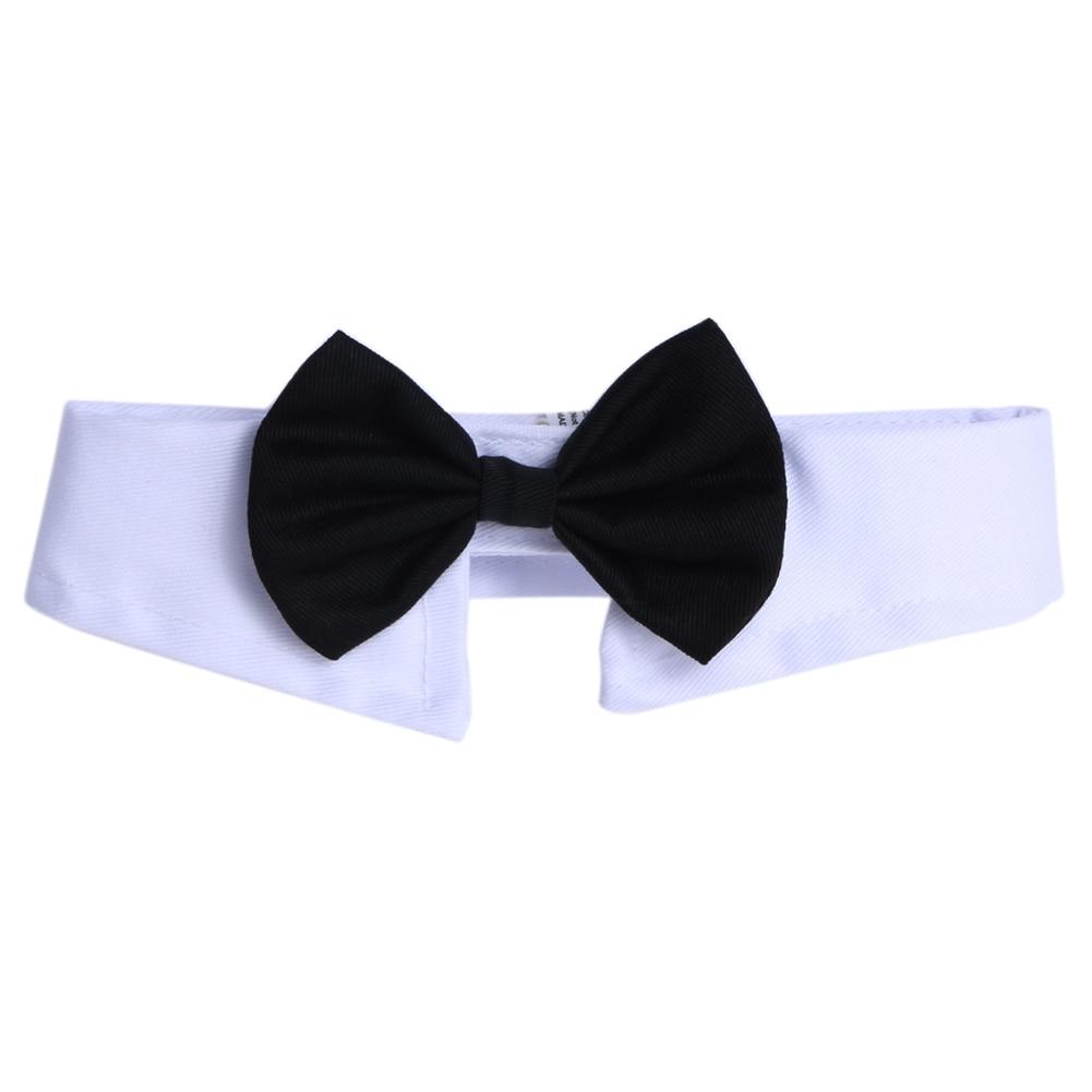 Pets Adjustable Bow Butterfly Tie Necktie Fashion Adorable Dog Cat Pet Tie Necktie Collar Clothes for wedding parties