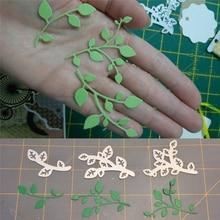 Leaf Flowers Metal Cutting Dies for Scrapbooking