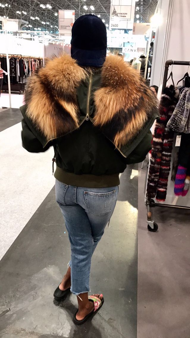 lady real fur flight wear high quality women natural fur jacket