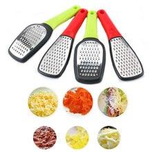 Роторная овощерезка для домашних овощей из нержавеющей стали с длинной ручкой ручная терка для сыра Прочный Многофункциональный кухонный инструмент руководство