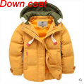 Boys winter Down Removable coats and jackets Children's windcheater coat  waistcoat Outerwear kids park Vest free shipping