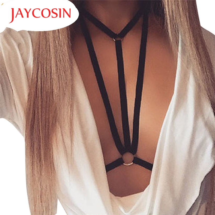 JAYCOSIN חדש אופנה נשים סקסי הלבשה תחתונה חלול החוצה אלסטי הלטר חזיית Bustier 160727 זרוק משלוח
