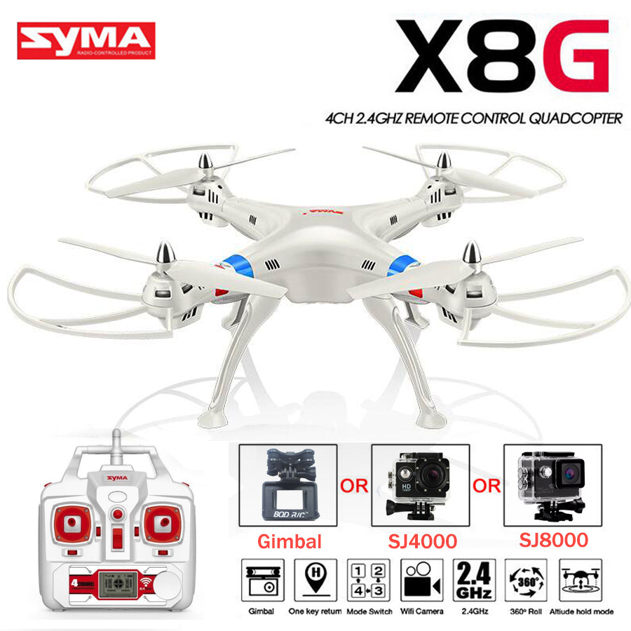 SYMA X8C X8W X8G RC Modified Helicopter FPV Quadrocopter