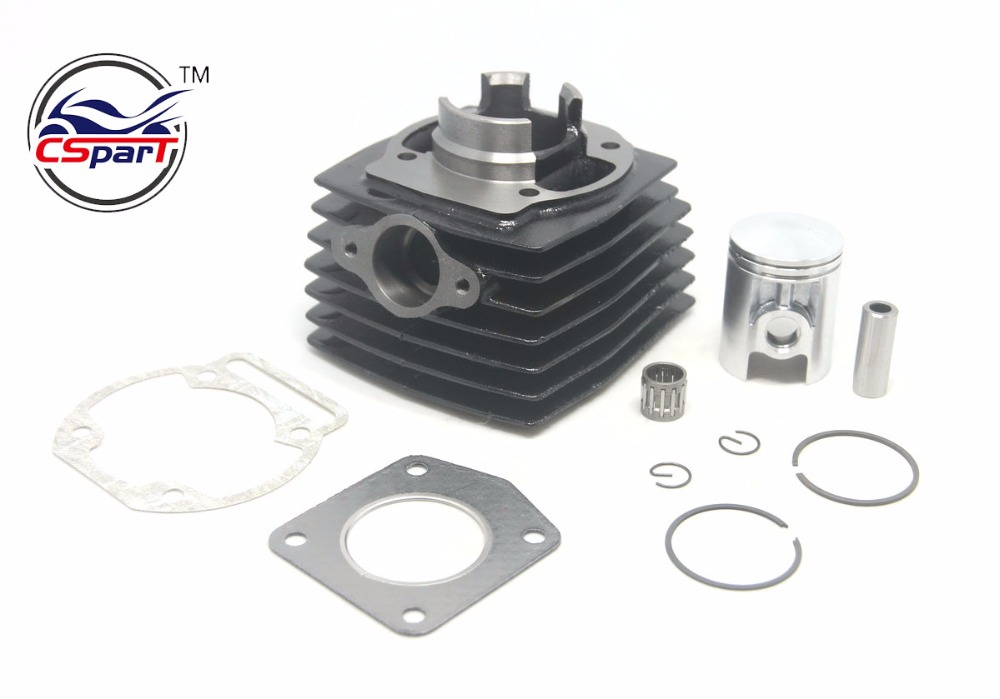 39MM 12MM Cylinder Piston Ring Bearing Gasket Kit For Morini 50 50CC Mini Moto Dirt bike