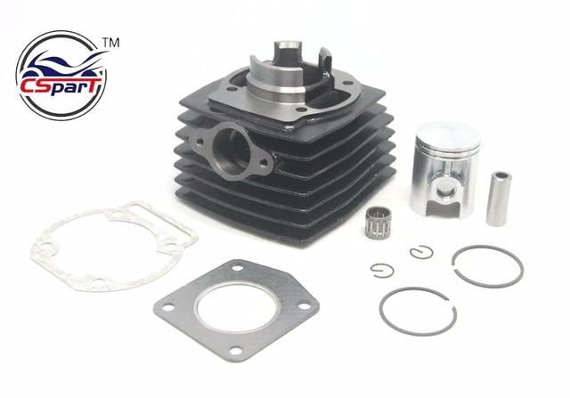 39MM 12MM Cylinder Piston Ring Bearing  Gasket Kit For Morini 50 50CC Mini Moto Dirt bike Cross