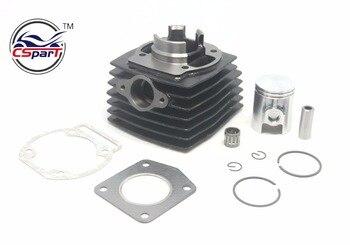 Kit de juntas de cojinete de anillo de pistón de cilindro de 39MM y 12MM para Morini 50cc, minimoto Dirt bike Cross