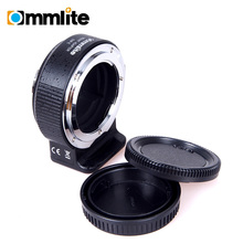 COMIX Digital Lens Adapter for Nikon F Lens to Sony E-Mount Digital camera AF EXIF Transmitting Aperture Management for SONY A7MII A7RII