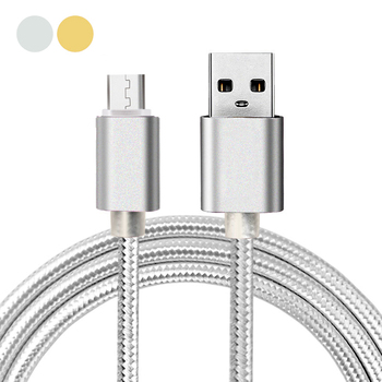 3FT Aluminum Nylon Micro USB 2in1 Data Sync and Fast Charge Cable for Elephone P8000 P7000 P6000 P5000 G9 G7 S2 Plus image