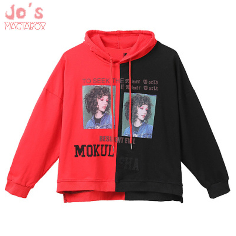 Color : Red, Size : OneSize YAXAN Womens Cartoon Banana Thick Velvet Long Sleeve Round Neck Sweater Hoodies