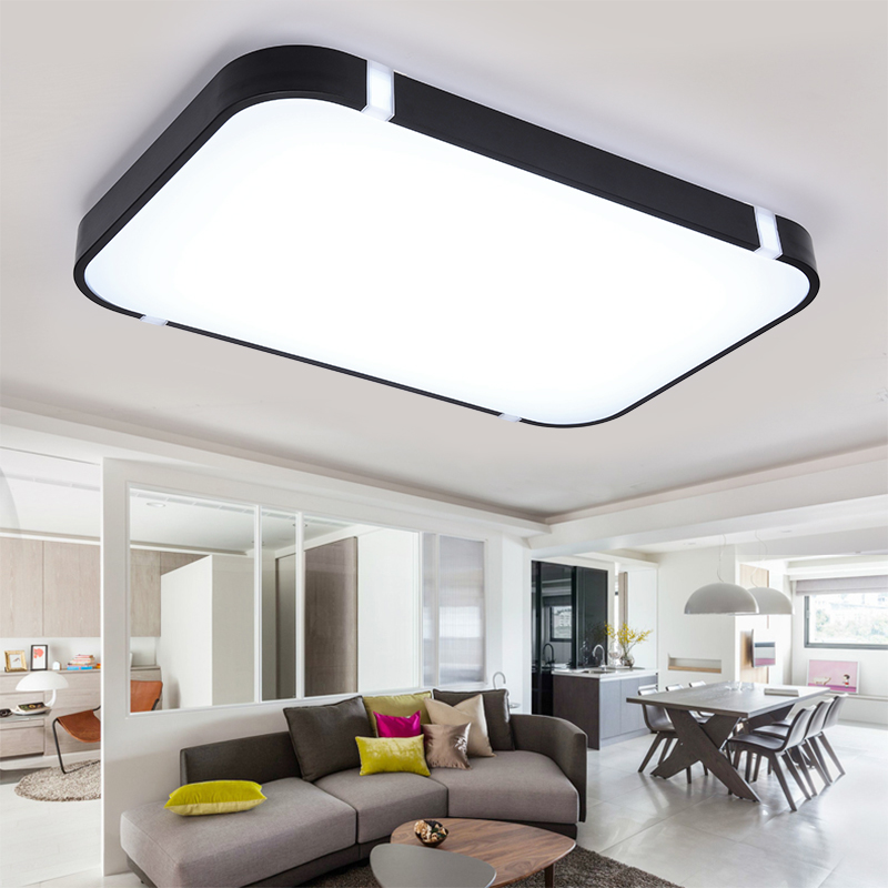 2018 Colorful Modern Led Ceiling Lights for Home Decorative RGB Luminaire Indoor Lighting Screen with Remote Control