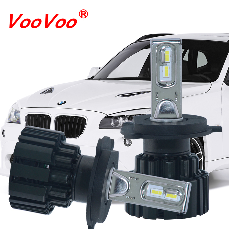 VooVoo Led Car Light For MBW Audi Toyota Honda Ford Volkswagen H4 H7 H11 H13 9005 5202 100W 12000LM 12V Headlight Bulb Lighting 9005 led headlight 30w 3000lm car led headlamp bulb fog light 6000k 12v for audi bmw mercedes benz buick cadillac citroen kia