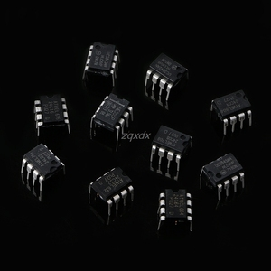 Image 5 - 100Pcs DIP IC Kit NE555 UC3842 UC3843 UC3845 24C02 24C04 24C08 24C16 24C32 24C64 Whosale & Dropship