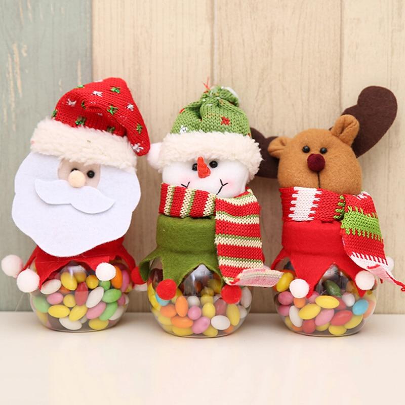 New Year Merry Christmas Candy Jar Christmas Sugar Bowl ...