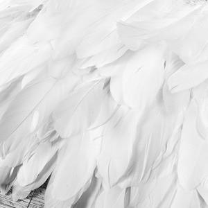 Image 4 - Soutien gorge de fée pour femmes, jupe blanche, châle à épaules ailes, gilet, Lingerie, harnais du corps, danse artistique, Festival ravive