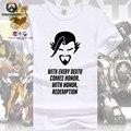 Новый Игровой персонаж Ханзо тень такие же как официальный футболка мужская майка поклонников игры подарок AC112