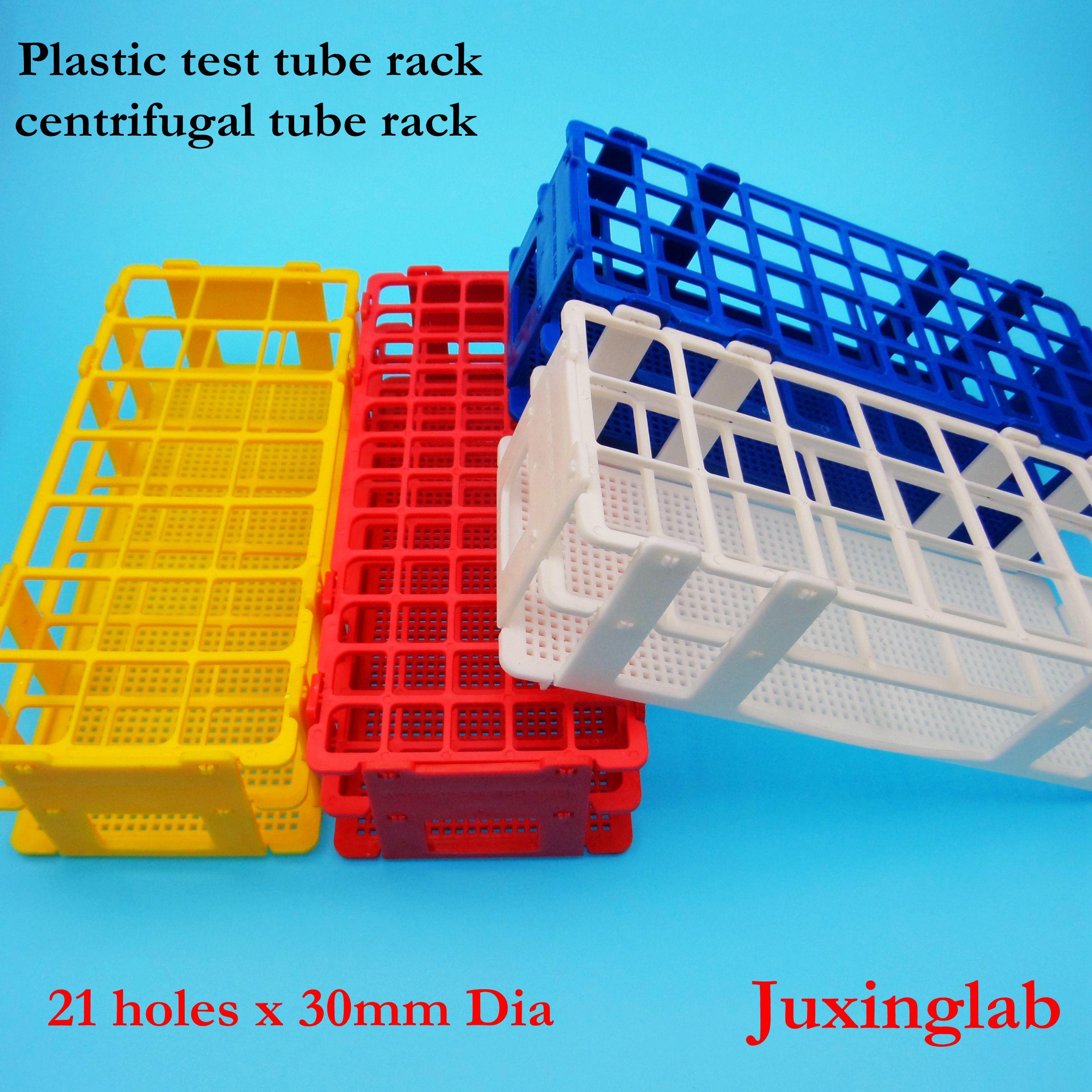 Laboratory Plastic Test Tube Racks 21 Holes X 30mm Dia   Test Tube Rack 21places X 30mm Diameter 50ml Centrifugal Tube Rack