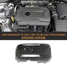 Carbon Fiber Add On Engine Cover Bonnets for Volkswagen VW GOLF 7 MK7 GTI Hatchback Only 2014 - 2017 Non Standard стоимость