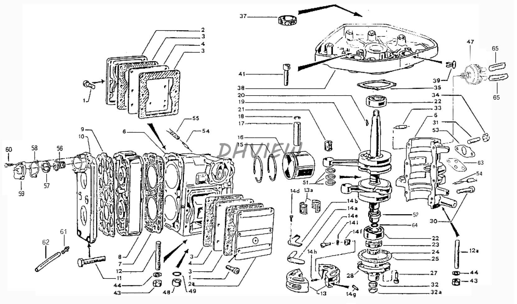 Jetunit 100premium Jetski Stator Assembly Magneto Generator Kawasaki 1100 Stx Jet Ski Wiring Diagram Free Shipping Parts For Zongshen Selva 2 Stroke 99hp 15hp Outboard Motor