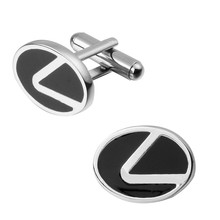Men's shirts Cufflinks high-quality copper material Lexus logo Cufflinks 2 pairs of packaging for sale