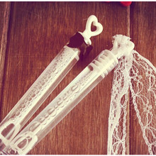 24pcs Love Straw Bubble Water Marriage Back Peach Heart Toys Bubble Water Tubes For Birthday Wedding Gifts+lace+Bow