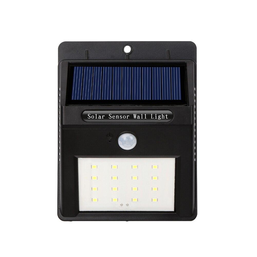 Lâmpadas Solares energia solar sensor de movimento Tipo : Solar Power