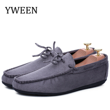 YWEEN Summer Men Shoes Breathable Fashion Casual Soft Slip On Comfort Mens Loafers Driving  Mocassins