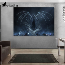все цены на 1 Pc Canvas Art Canvas Painting Diablo 3 Reaper of Souls HD Printed Wall Art Home Decor Poster Picture for Living Room XA1309C онлайн