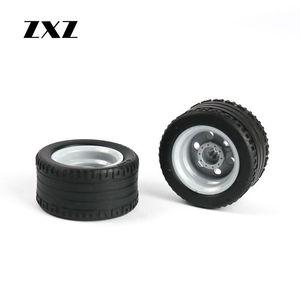 Image 4 - Rueda técnica de 20 piezas, neumático de agujero cruzado, 44309 Hub 56145 para niños, juguetes MOC, accesorio de coche, Technik, ruedas y neumáticos en bloques de construcción
