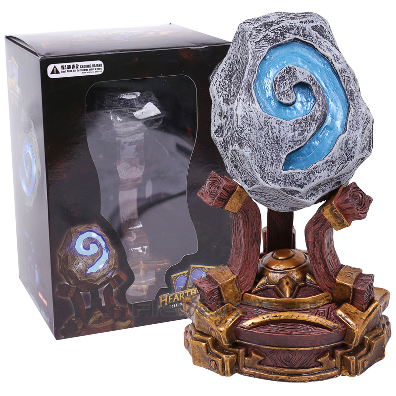 Hearthstone PVC Action Figure Collectible Model Toy with LED Light with Retail Box 18cm avengers movie hulk pvc action figures collectible toy 1230cm retail box