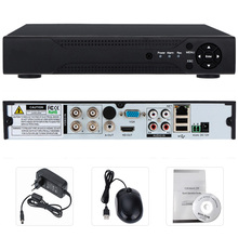 Hiseeu 4CH 960P 8CH 1080P 3 in 1 DVR video recorder for Analog AHD camera IP camera P2P cctv system DVR H.264 VGA HDMI output