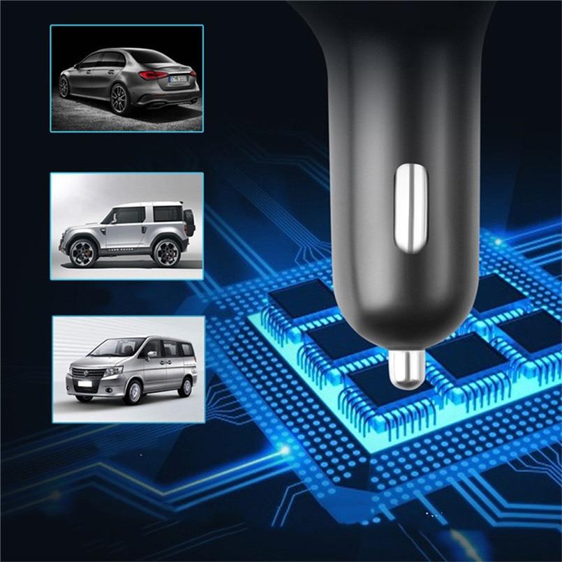 V5.0 Bluetooth Car FM Transmitter Wireless Radio Adapter USB Charger Car Mp3 Player Digital Tube Display Screen 40AP903