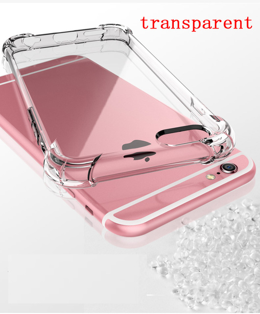 Silicone Clear TPU Case For iPhone 5s SE Cover For iPhone X XR XS MAX 7 8 6s 6 Plus Ultra Thin Crystal Back Protect Rubber Phone 3